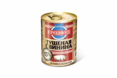 Тушеная свинина ж/б ГродФуд (Беларусь)