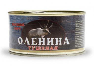 Мясо оленя тушеное 325 гр